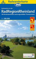 Fahrradkarte Radregion Rheinland BVA Coveransicht