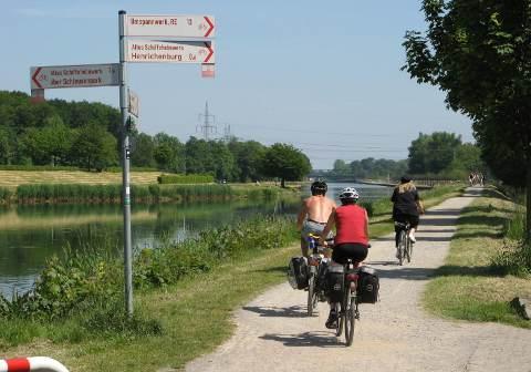 Fahrradwege Ostfriesland Karte.Dortmund Ems Kanal Radweg Mit Tipp Radkarte Radwege Bei