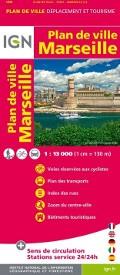 IGN Plan de Ville Marseille Stadtplan Cover bei fahrradtouren.de
