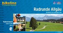 Radrunde Allgäu bikeline Radtourenbuch Cover bei fahrradtouren.de