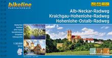 Ab Neckar Radweg bikeline Radtourenbuch Coverbild